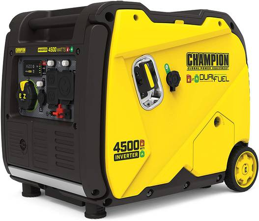 Photo Chion Dual Fuel 4500 watt inverter Generator Electric Start NEW IN - $750 (columbus)