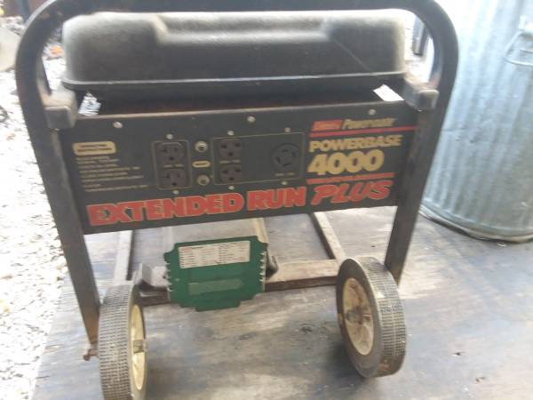 Photo Coleman 4000 watt generator - $350 (Utica homer johnstown Newark mt Vernon)
