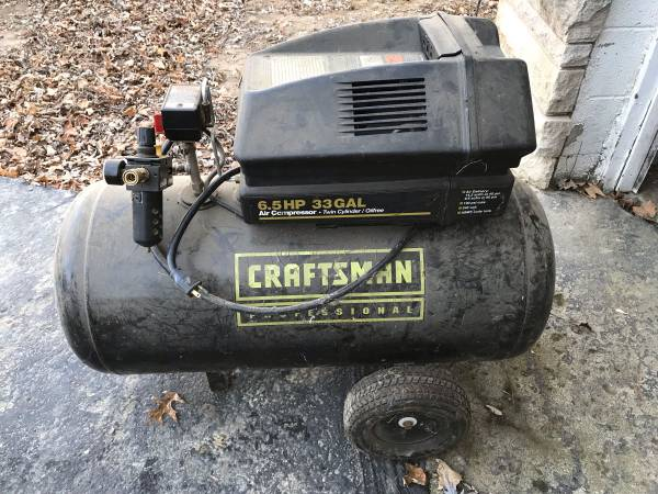 Photo Craftsman Professional 33 gal Air Compressor - $100 (New Albany)