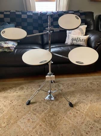 Photo Drum Workshop Go Anywhere Practice Drum Set - Retails $189 new on Amazon - $80 (Newark)