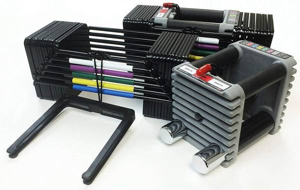 Photo Dumbbells..PowerBlock Set - $365 (Columbus)
