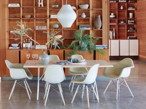 Photo Herman Miller Eames Shell Side Chairs White Trivalent Chrome Base BRAND NEW IN - $1,000 (Columbus)