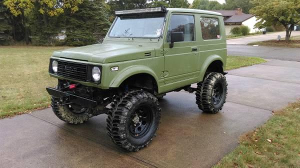 Lifted Suzuki Samurai Tin Top Beast W 31 Boggers 3800 Canton Cars Trucks For Sale Columbus Oh Shoppok