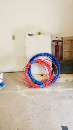 Photo Pex Pipe 12quot water line - $20 (Cols And or Mansfield)