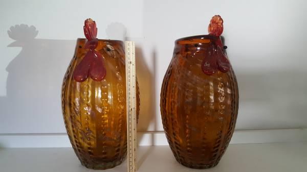 Photo Pier One CHICKEN Vase(s) - $25 (Upper Arlington)