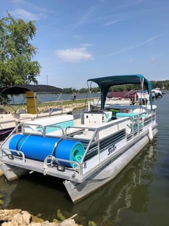 Photo Pontoon Boat For Sale - $8,700 (Choctaw Lake London)