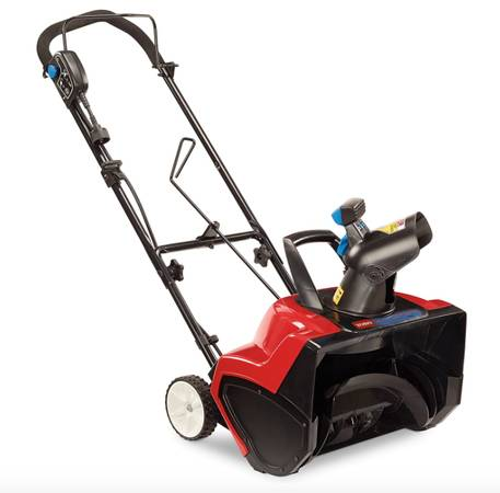 Photo Toro 38381 18-Inch 15 Amp Electric 1800 Power Curve Snow Blower - $175 (Gahanna)