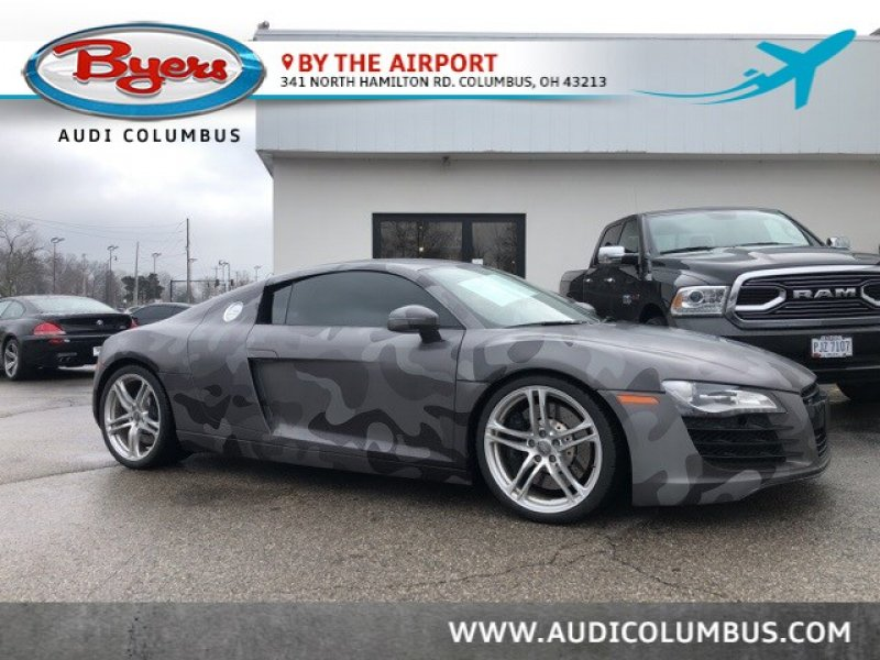 Photo Used 2008 Audi R8 4.2 Coupe for sale