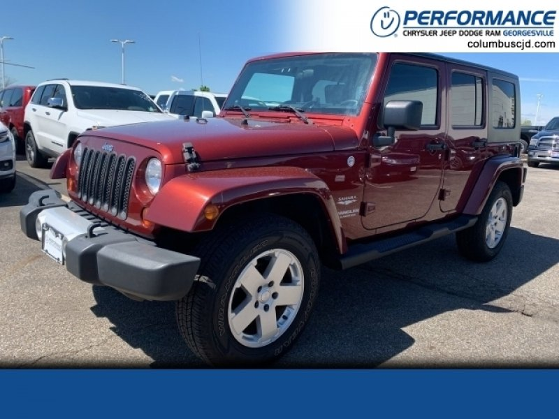 Photo Used 2010 Jeep Wrangler 4WD Unlimited Sahara for sale