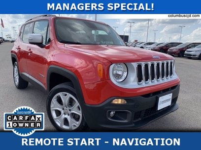 Photo Used 2015 Jeep Renegade 4WD Limited for sale