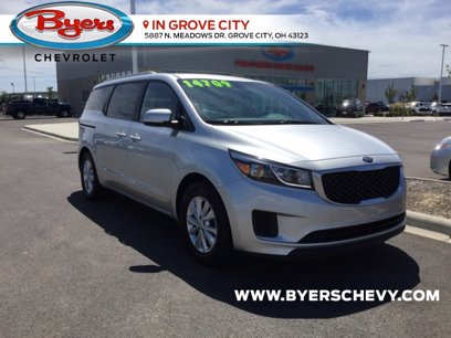 Photo Used 2015 Kia Sedona LX w LX Convenience Package for sale
