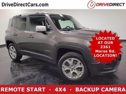 Photo Used 2016 Jeep Renegade 4WD Limited for sale