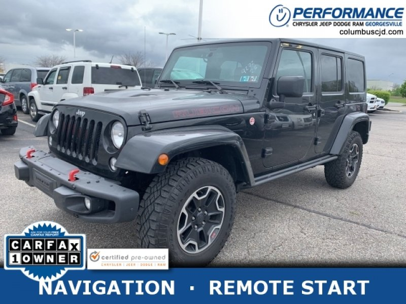 Photo Used 2016 Jeep Wrangler 4WD Unlimited Rubicon for sale