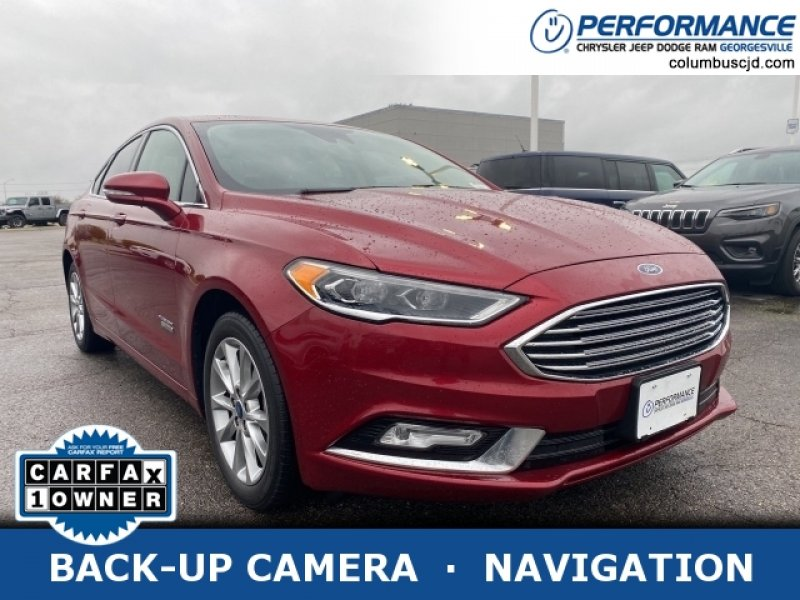 Photo Used 2017 Ford Fusion Energi SE Luxury for sale