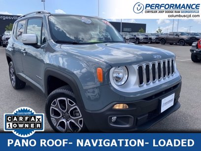 Photo Used 2017 Jeep Renegade 4WD Limited for sale