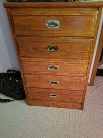 Photo Used Oak dresser - $60 (Columbus)