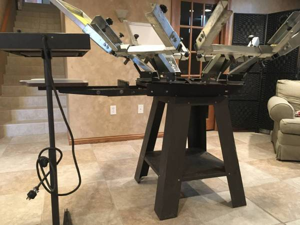 Photo Used screen Printing Equipment Harco  Brown - $3300