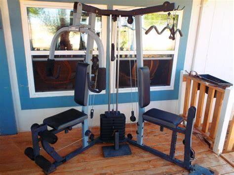 Photo Weider Pro 4100 Home Gym weight system exerciser - $300 (pickerington)
