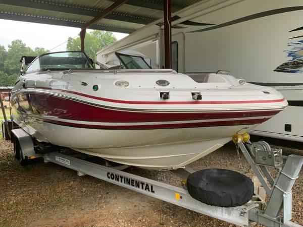 Photo 2014 2400 Hurricane deck boat - $42,500 (Lagrange)