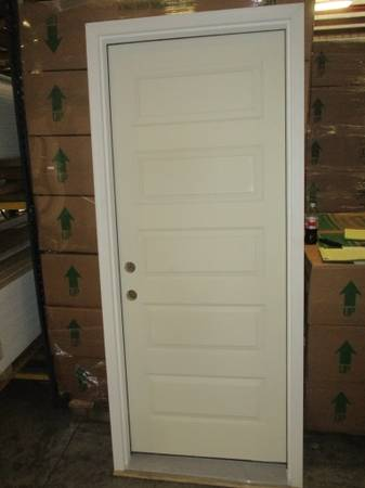 Photo 32quot Right Hand 5 Panel Solid Core Exterior Door - $84 (ColumbusFortson)