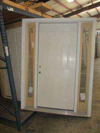 Photo 36quot Exterior Door With Sidelights- NEW - $200 (ColumbusFortson)