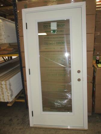 Photo 36quot Right Hand Full Glass Outswing Exterior Door- NEW - $150 (ColumbusFortson)