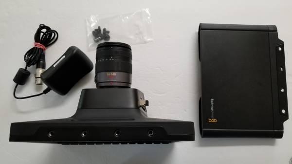 Photo Blackmagic Design Studio Camera Panasonic G Vario 14-140mm Lens - $1,500 (Lawrenceville)