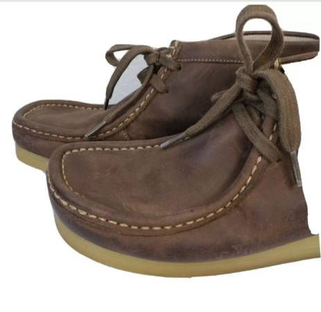 Photo Clarks Mens STINSON HI Beeswax Leather Casual Boots Lace Up Shoes 10 M - $50 (Snellville)