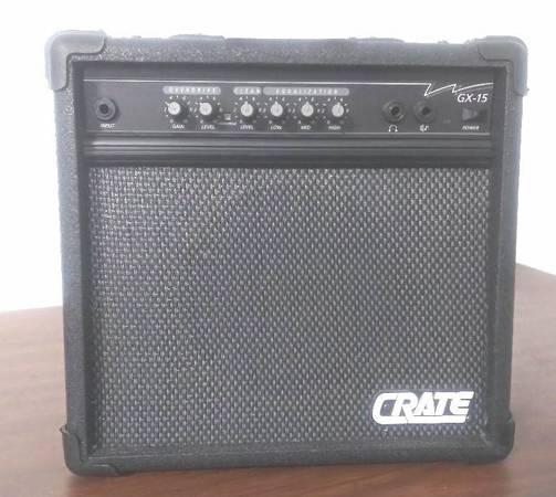 Photo Crate Guitar Amp Amplifier GX-15 30 Watts - $45 (Dacula, Ga.)