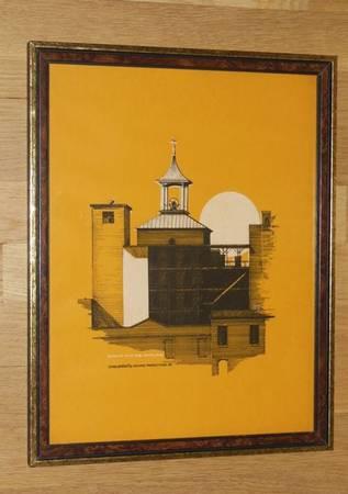 Photo Framed Print of Bell Tower at 14th Street Bridge in Columbus, GA - $50 (NE Atlanta - inside I-285)