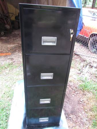 Photo Schwab Fire Resistant 4 Drawer File Cabinet - $425 (Smiths Station)