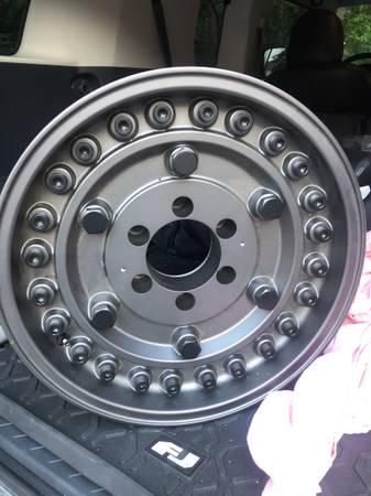 Photo Toyota 6 Lug Black Rhino Wheels - $850 (Columbus)