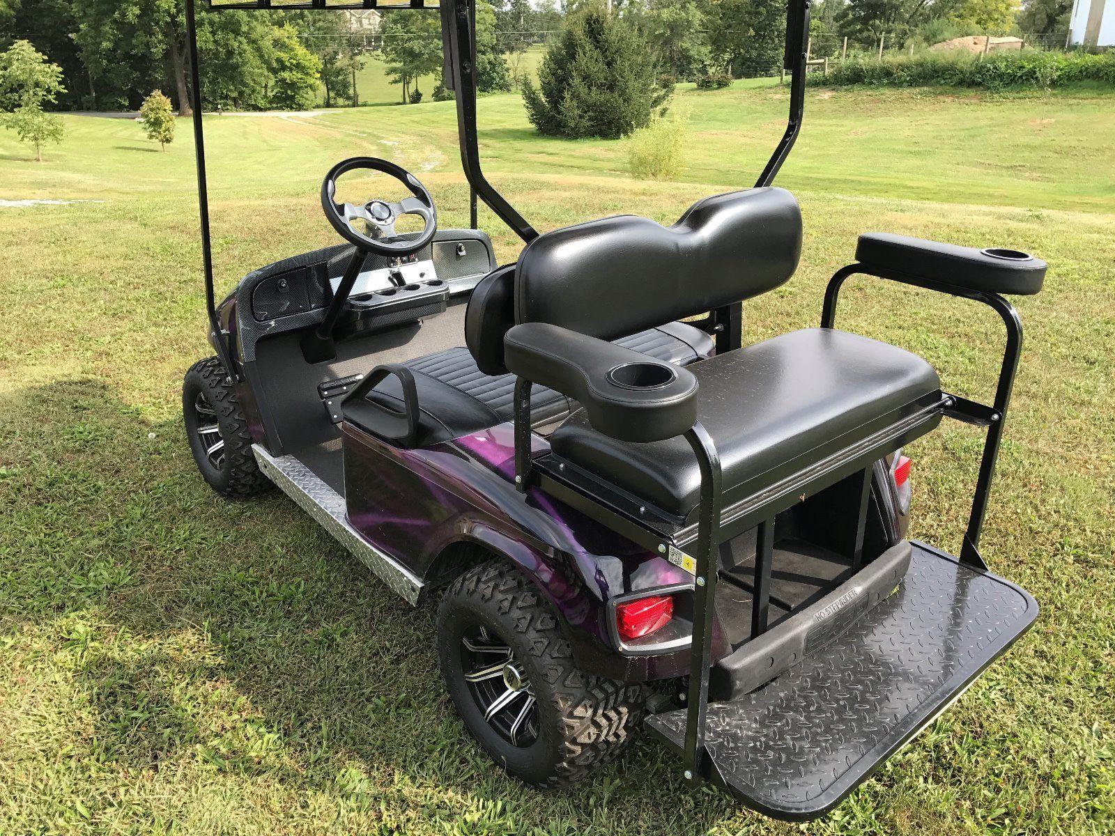 Photo USED E-Z-GO 2014 Four Passenger Golf Cart Custom