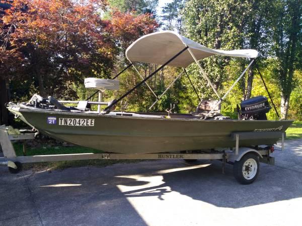 Photo 14 ft Jon boat - $2,600 (Sevierville)
