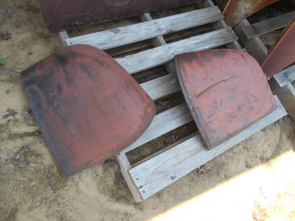 Photo 1946 1947 1948 Chevy car or other GM door fender extensions - $160 (Tinchtown area of Jamestown)
