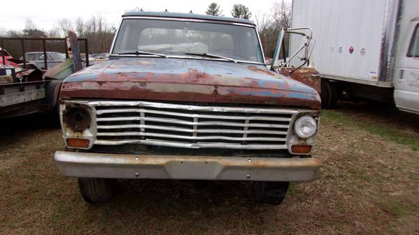Photo 1967 FORD F-350 RANGER DUALLY TRUCK COOL DIESEL RAT ROD - $1100 (GRIMSLEY)