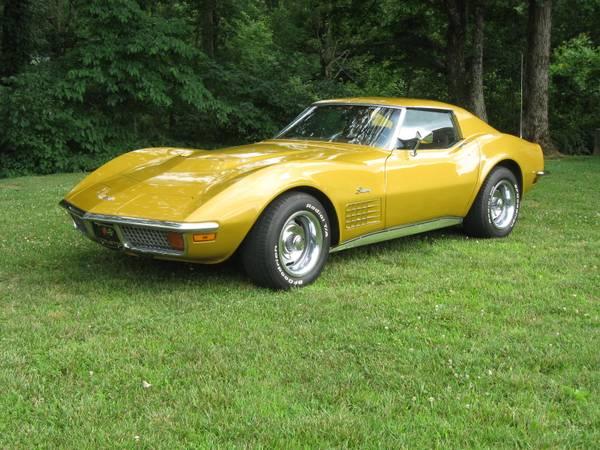 Photo 1972 Chevrolet Corvette Stingray - $29500 (Cookeville)