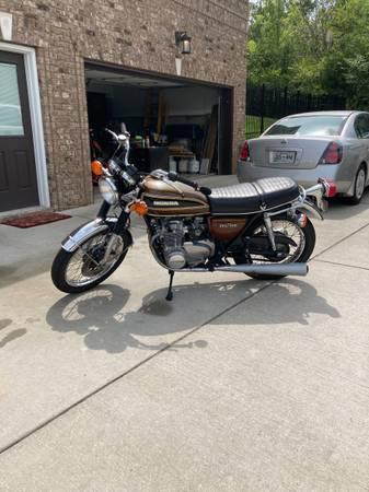 Photo 1976 Vintage Honda CB550 Four ORIGINAL - $4,200 (Nashville)