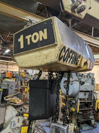 Photo 1 Ton  12 Ton Coffing Hoists Duff Norton (Huntsville AL)