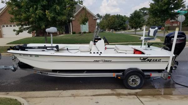Photo 2013 Mako Pro Skiff 17 CC - $12,500 (Owens Cross Roads)