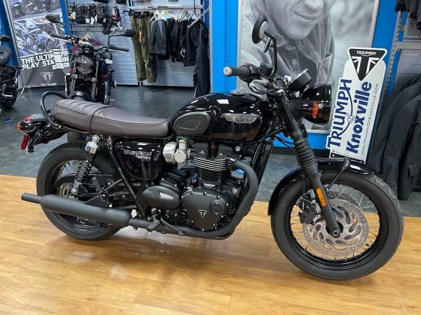 Photo 2020 Triumph Bonneville T120 Black Jet Black (AA1673) - $10,850 (Clinton Hwy Knoxville)