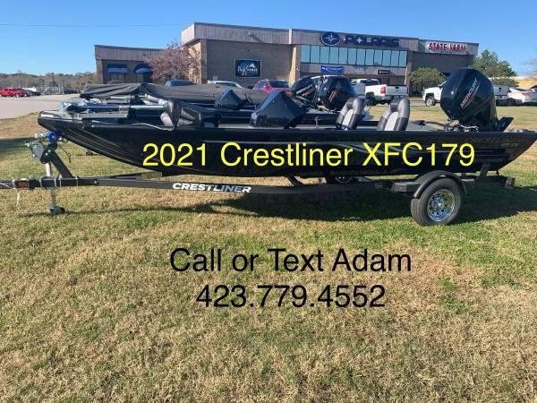 Photo 2021 Crestliner XFC179 Bass Boat - $20,799
