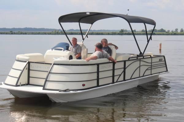 Photo 2022 Lexington 265RZX Pontoon Boat - $59,990 (Rockwood)