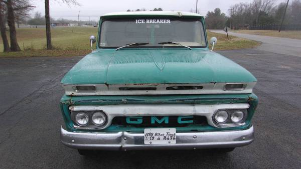 Photo COOL 1966 GMC not Chevy rat rod truck LWB step side - $7400 (Grimsley)