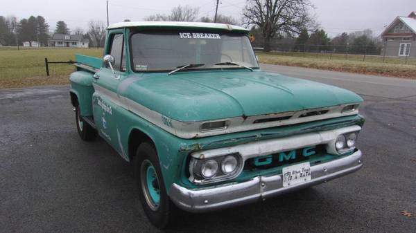 Photo COOL 1966 GMC not Chevy rat rod truck LWB step side - $7200 (Grimsley)