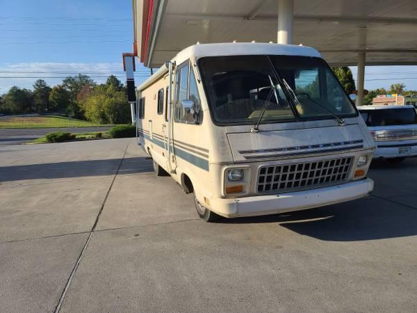 Photo Chevy Winnebago Rv low miles - $6,000 (Madisonville)