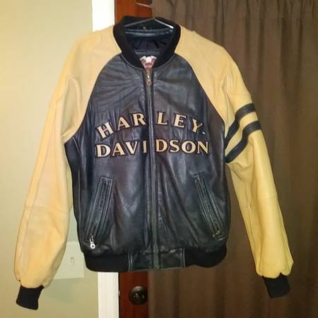 Photo Harley-Davidson lamb leather jacket - $75 (Thompson39s Station)
