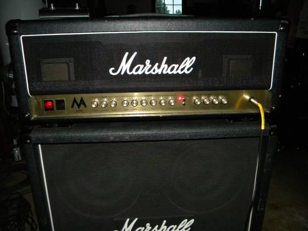 Photo Marshall MA100H 100W Tube Guitar Amp Head - $450 (Hermitage)