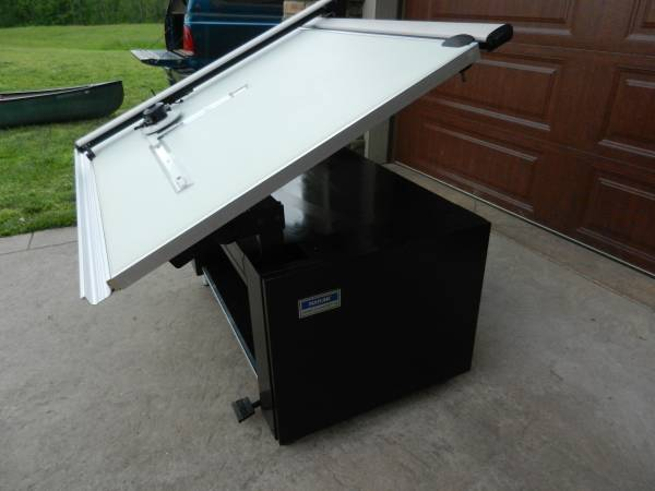 Photo Mayline Drafting Art Quilting Design Table 36x48 Vemco Machine - $575 (Cookeville)