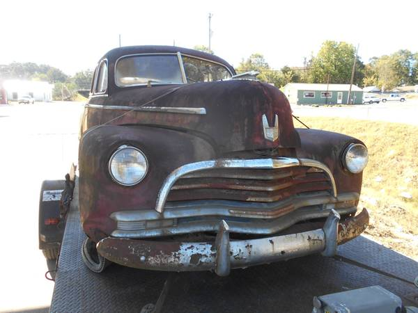 Photo PARTING OUT 1946 1947 Chevy Fleetmaster Stylemaster sedans (Grimsley)